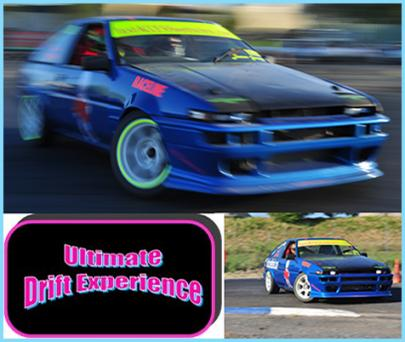 Just $67 for Four Laps in a Pro Drift Car + Hi Res Photo and Certificate + 50% off your second visit within 3mths from the Team at The Ultimate Drift Experience (Value $239, Discount 72%)